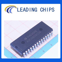 (TI IC) TI ADC0809CCN, IC ADC 8BIT MPU 8CH MUX 28-DIP, Data Acquisition - Analog to Digital Converters (ADC)