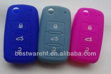 Custom vw golf remote key cover,smart car key silicone cover