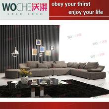 wicker sofa chair set lounge furniture fashion sofa (WQ8918B)