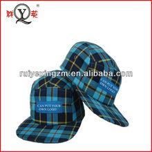 Cheap custom classics stripe 5 panel hats