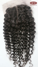 100% Human Virgin hair,Top closure hair piece