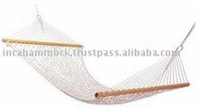 Single cotton Rope Hammock