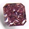 0.49carat Deep purplish pink SI2 color enhanced diamond