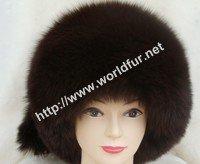 fox fur hat F007