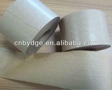 carton sealing fiberglass wet water kraft adhesive tape