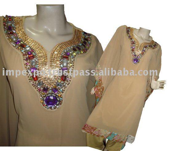 Ladies Latest Stylish Taftan Suit (Pancho Dress)(Item No.IMPEXPOLADIESTAFTAN02)