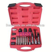2014 Alternator Freewheel Pulley Removal Set 18pcs Alternator Car Tools Set auto parts for mazda