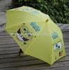 Hot sale trendy painting fabric umbrella
