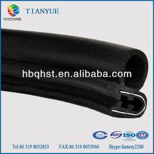 EPDM rubber seal strip for car door frame rubber weatherstripping