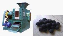 Straw coal briquette press