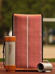 Autonomous portable solar generator