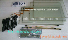 CE, FCC,RoHS approved 12.1 inch 5 wire resistive touch screen