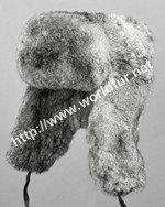 rabbit fur hat R009