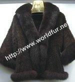 mink fur coat M010