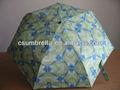 3 dobrar auto guarda-chuva aberto e fechado