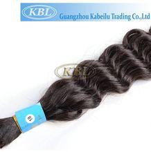 2013 all textures cheap 100% brazilian bulk hair crinoline braid horse hair braid