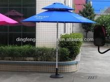 Promotional 2013 solar led patio umbrella