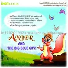 Iken Fun Learning Book Amber & The Big Blue Sky