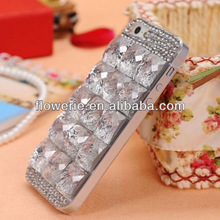 FL2152 2013 Guangzhou hot selling DIY luxury crystal diamond case for iphone 5 5G