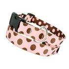 PU Fun Polka Dot Dog Collar