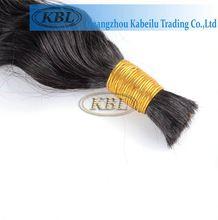 Unprocessed brazilian bulk hair x-pression ultra braid synthetic hair
