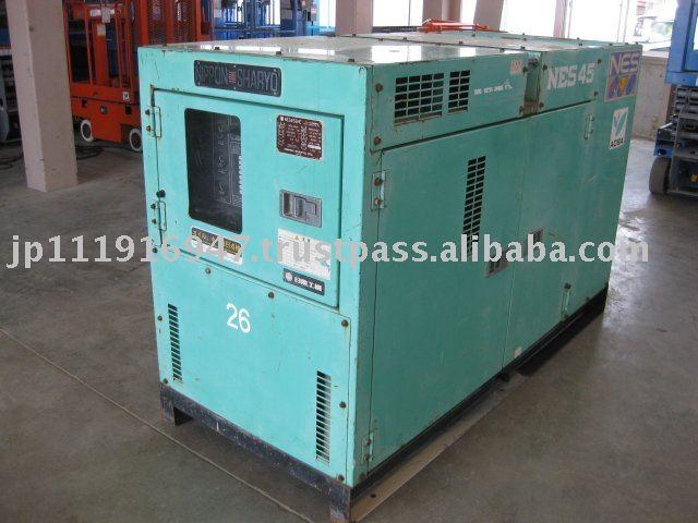 se utiliza generador diesel nippon sharyo nes45she