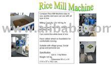 EDI Compact Rice Mill Machine