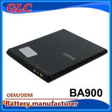 Li ion battery 3.7V 1200mAh BA900 charger batteries