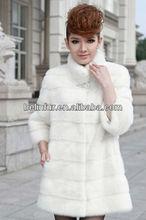 russian style mink fur coat