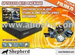 Sheperd 4CH MJPEG stand-Alone Digital Video Recorder