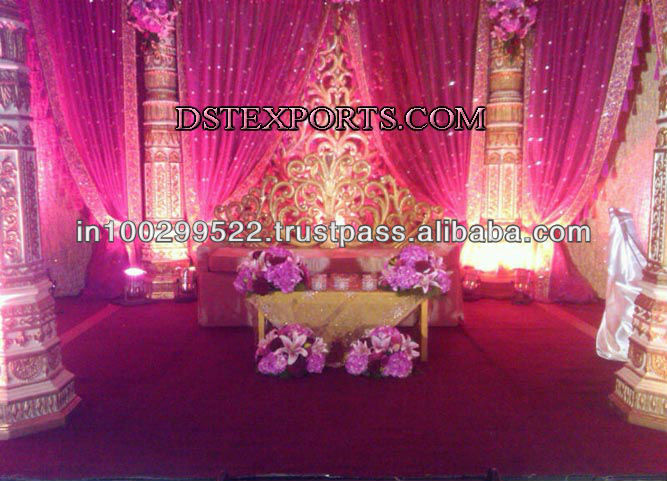 See larger image SRILANKAN WEDDING STAGE SET