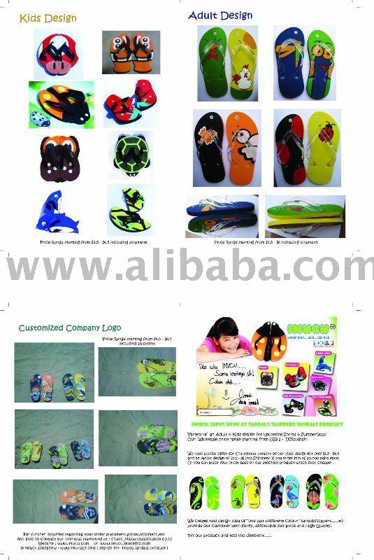See larger image: IMUCU - MUKU - KIWI AZ - AVESTA Kids Sandals & Adult Beach ...
