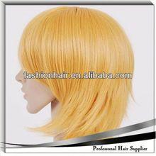 2014 Most Fashionable Halloween wig,Remy hair,Hair braid,Half wigs fluffy wig