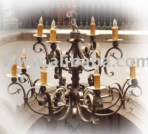 de hierro de méxico lámpara de iluminación