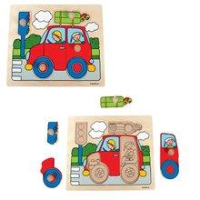 """Knob puzzle """"car"""""""