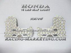 Customized 78 LEDs Map Light for Honda