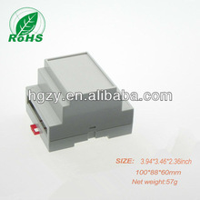 electronic enclosure plastic box wall mount round abs enclosure