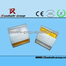 high resistance aluminim road stud with reflector/brightness road stud reflector