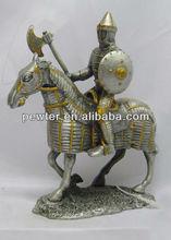 Top grade Metal Knight Armor, soldier figurines