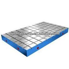 cast iron T-slot platform