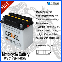 12V 7AH Motorcycle Battery, battery scooter