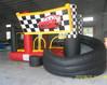 2013 inflatable slide bouncer combo, cheap bouncer slide combo for sale