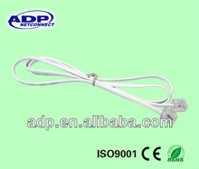RJ11 6P4C telephone Patch cord cable