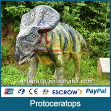 JLSD-L-0127 Funny!!!amusement park latex roaring dinosaur king