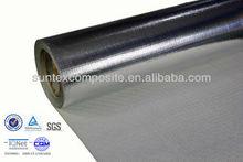 14micron aluminum foil laminated fiberglass heat shield insulation cover