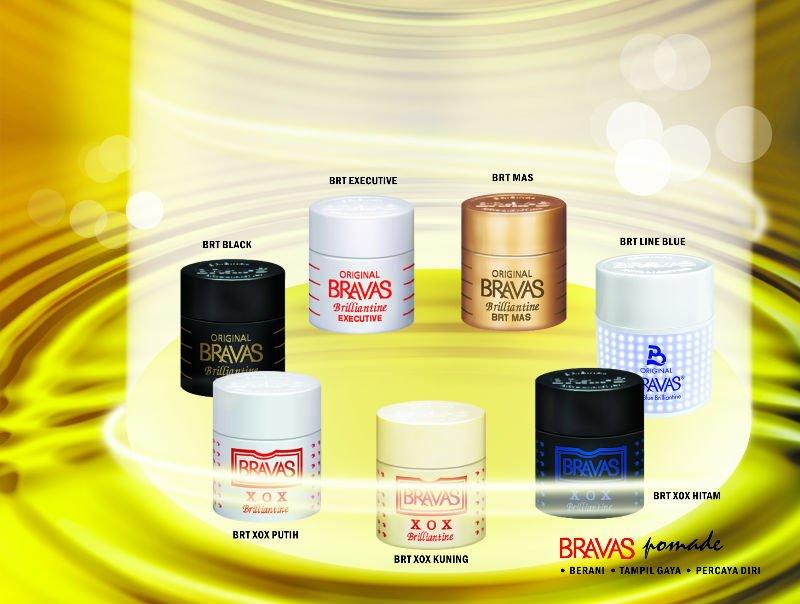 BRAVAS Hair Pomade 80 gram