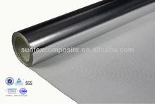 14micron aluminum foil laminated fiberglass acid resistant fire product