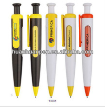 2013the most promotional advertising plastic window pen with white and black color