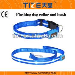 Environmentally Friendly Canine product TZ-PET6100 custom nylon led dog leashes