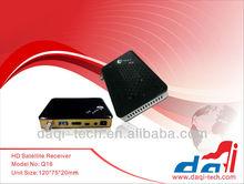 Q16 DVB-S2 Decoder MEPG-4 MINI HD Digital satellite receiver with WIFI+CA+2USB+LAN+3G+IPTV+IKS+LED DISPLAY for the Middle East